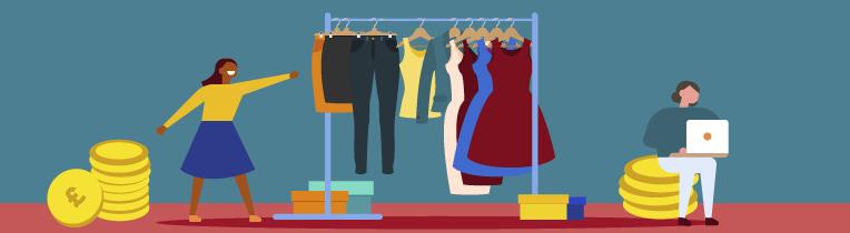فروش پوشاک